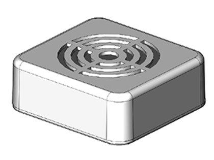 DZ-1020B Crossing Bell Sound Module | HO or N gauge