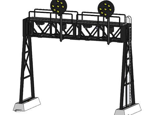 DZ-1090-HO-60-2 Signal Bridge | HO scale