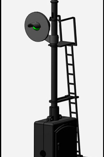 DZ-1065-S Searchlight Signal | S-gauge