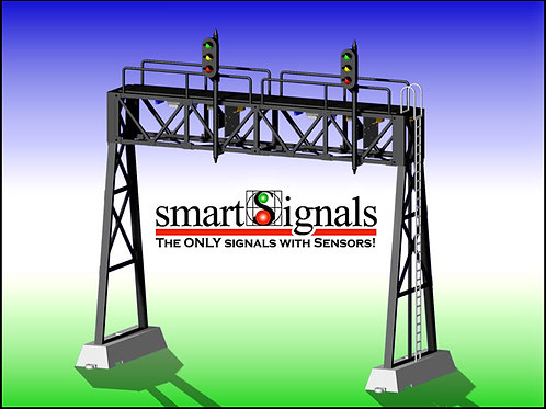 DZ-1090-50-2 Signal Bridge | O gauge