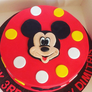 Hey Mickey! This cake smelled divine wit