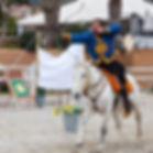 archerie équestre, tir à l'arc à cheval