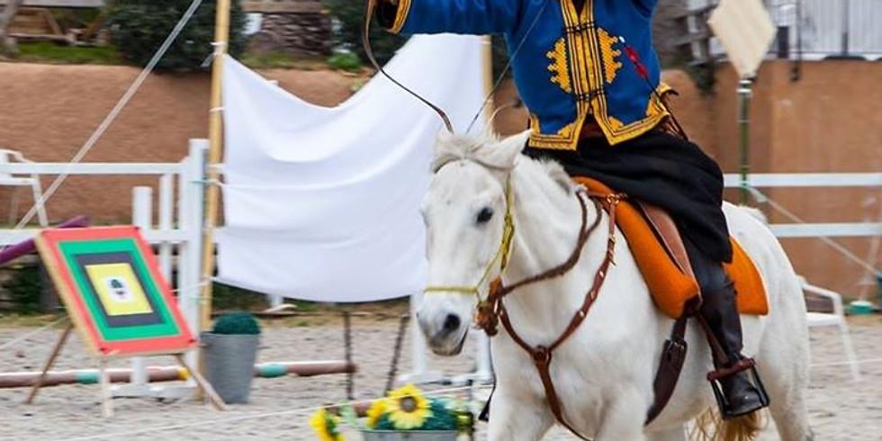 Stage Tir à l'arc à cheval  perfectionnement
