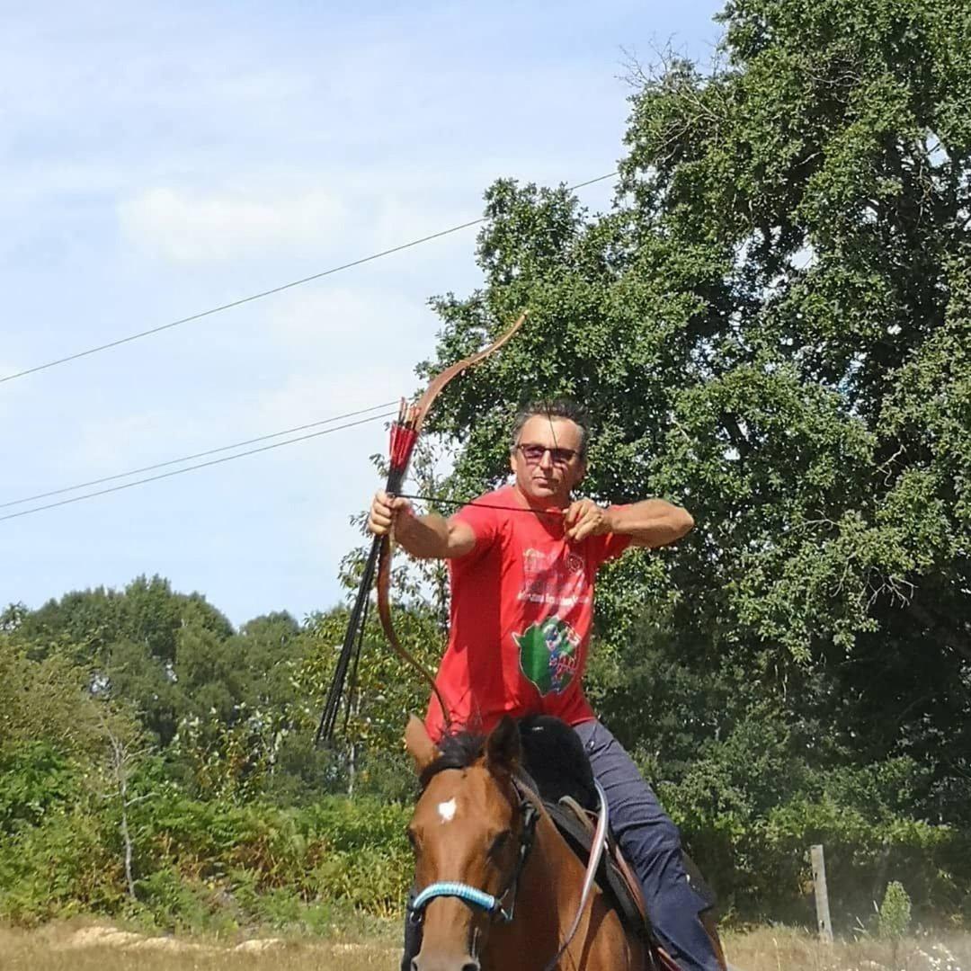Stage tir à l'arc à cheval