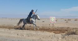 tir à l'arc à cheval voyages