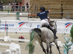 tir à l'arc à cheval championnats