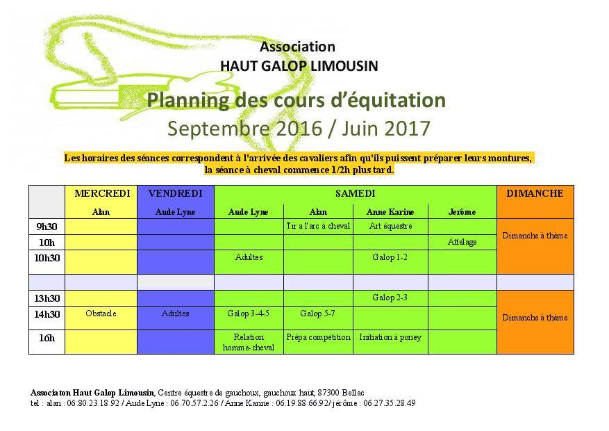 planningcours