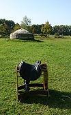 selle pour tir à l'arc à cheval