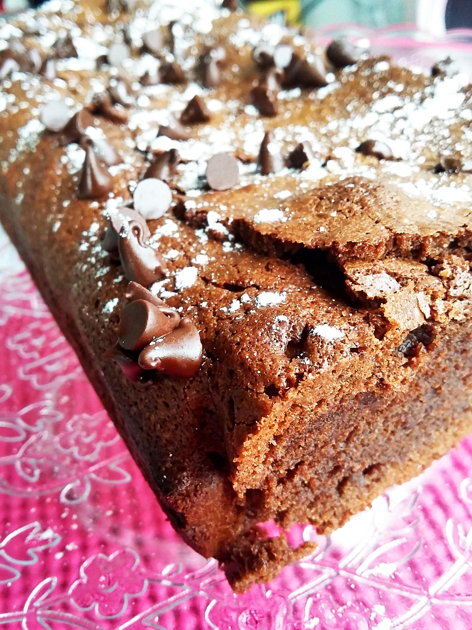 Cake au chocolat maison