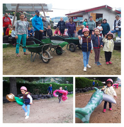 Mountagna parc - Jeux - course de brouet