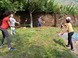 Atelier cirque saint Lary Soulan