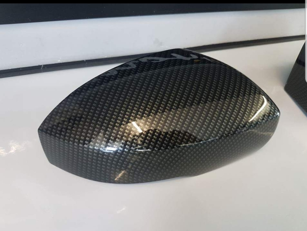 carbon fibre mirror cover