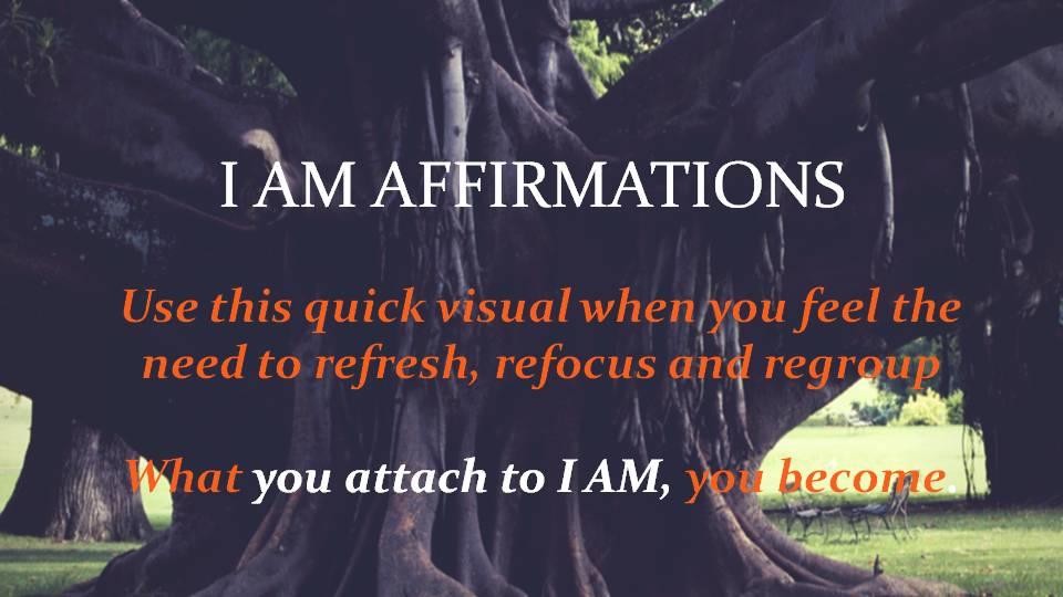 I AM Affirmation