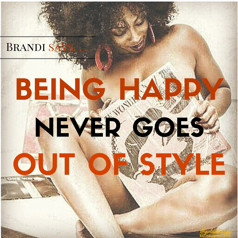 Brandi Says. . .