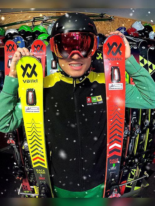 1 day (Ski + Boots + Poles)
