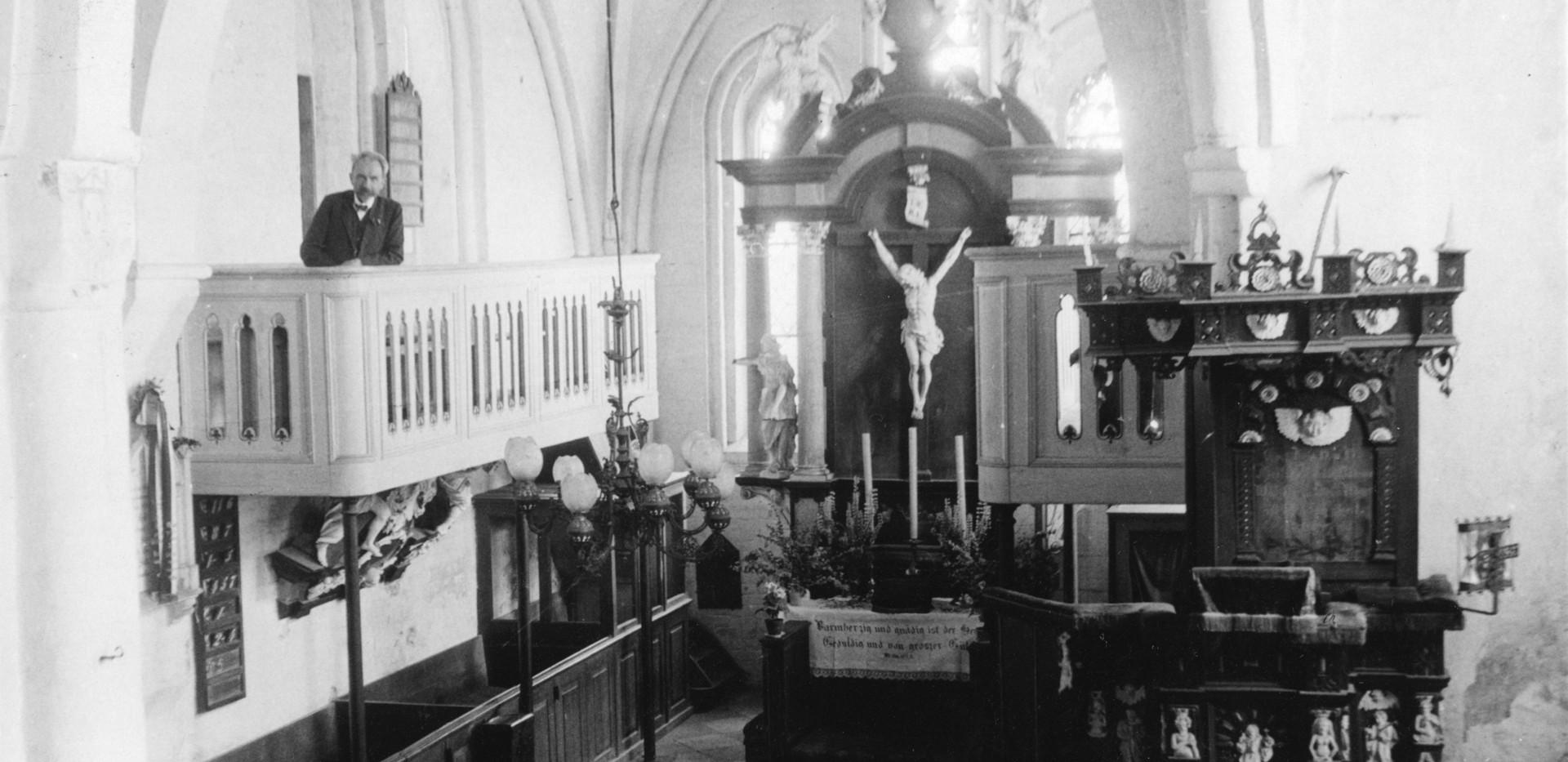 Altarbereich 1933