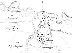 Kartenausschnitt von 1839