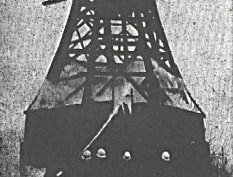 Brand am 1. April 1973