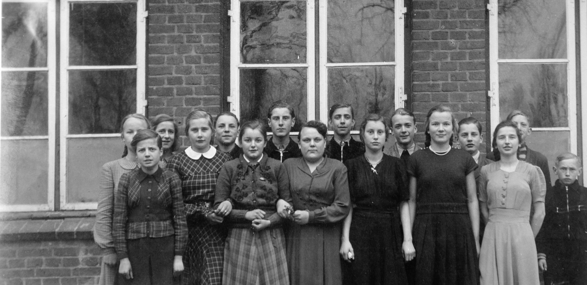 Schulklasse 1952