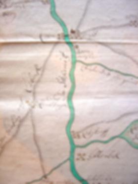Bornmühle Stecknitzkarte von 1690