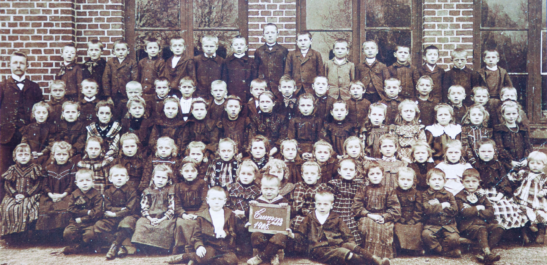 Schulklasse 1905
