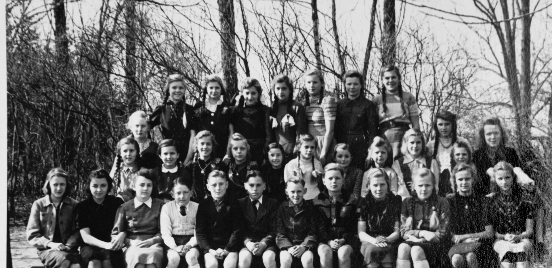 Schulklasse 1950/51