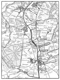 Karte um 1915  nach Möhring