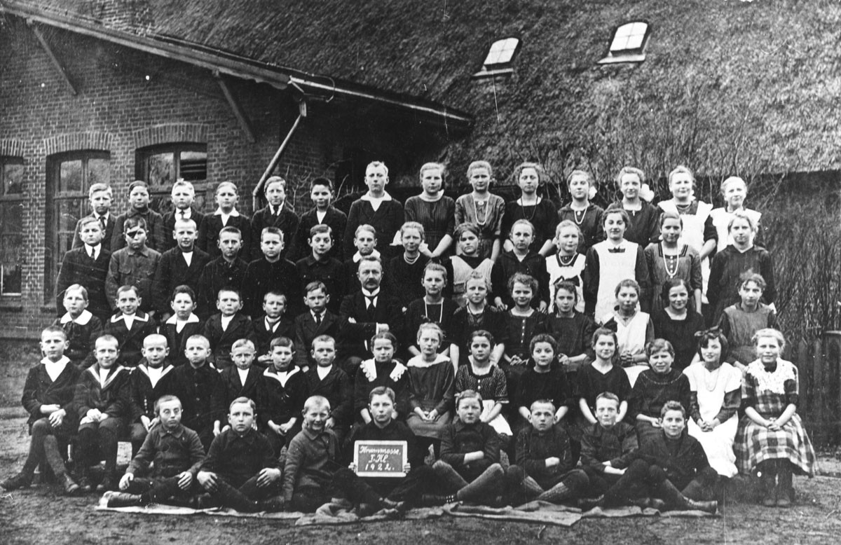 Schulklasse 1922