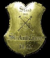 Stecknitzfahrerschild am Kirchengestühl