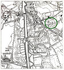 die beiden Gräberfelder U1 + U2