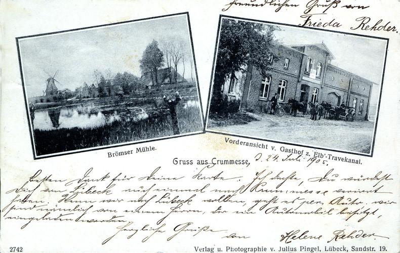 Brömbsenmühle und Gaststätte