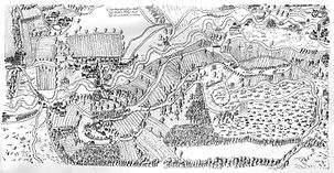 Karte (1609), Kopie 1760 - Druck