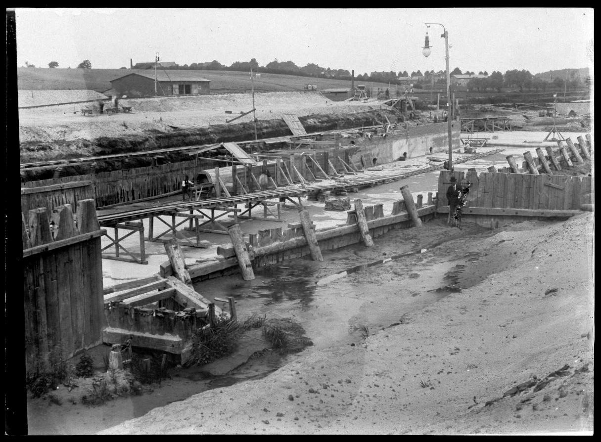 Schleusenbau 1897