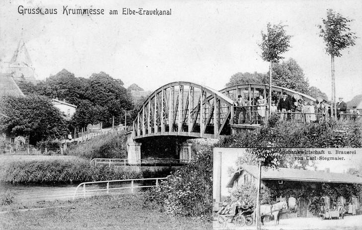 Kanalbrücke 1900