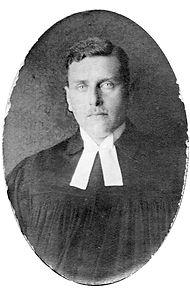 Pastor Wilhem Eggers ca. 1928
