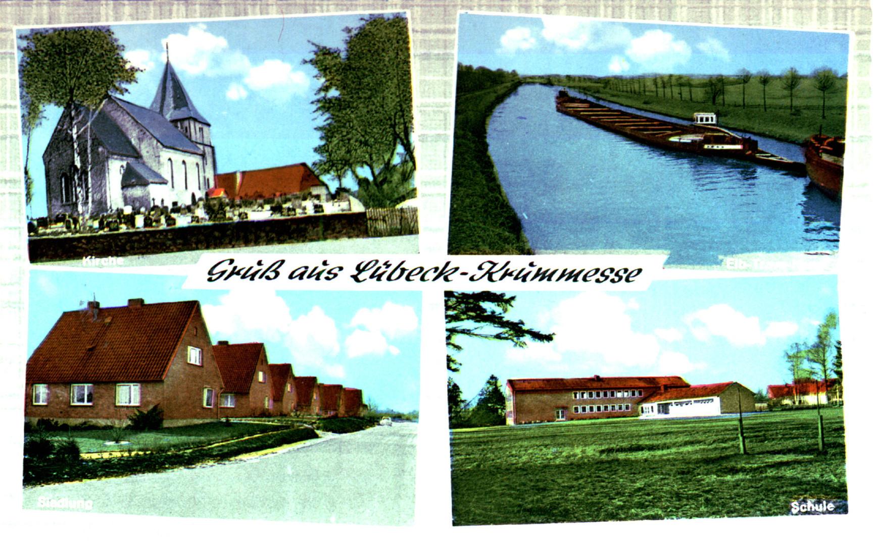 Gruss aus Lübeck Krummesse
