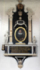 Epitaph des Travemünder Pastors Joachim Heinrich Ostrmeier geboren 1713 in Krummesse