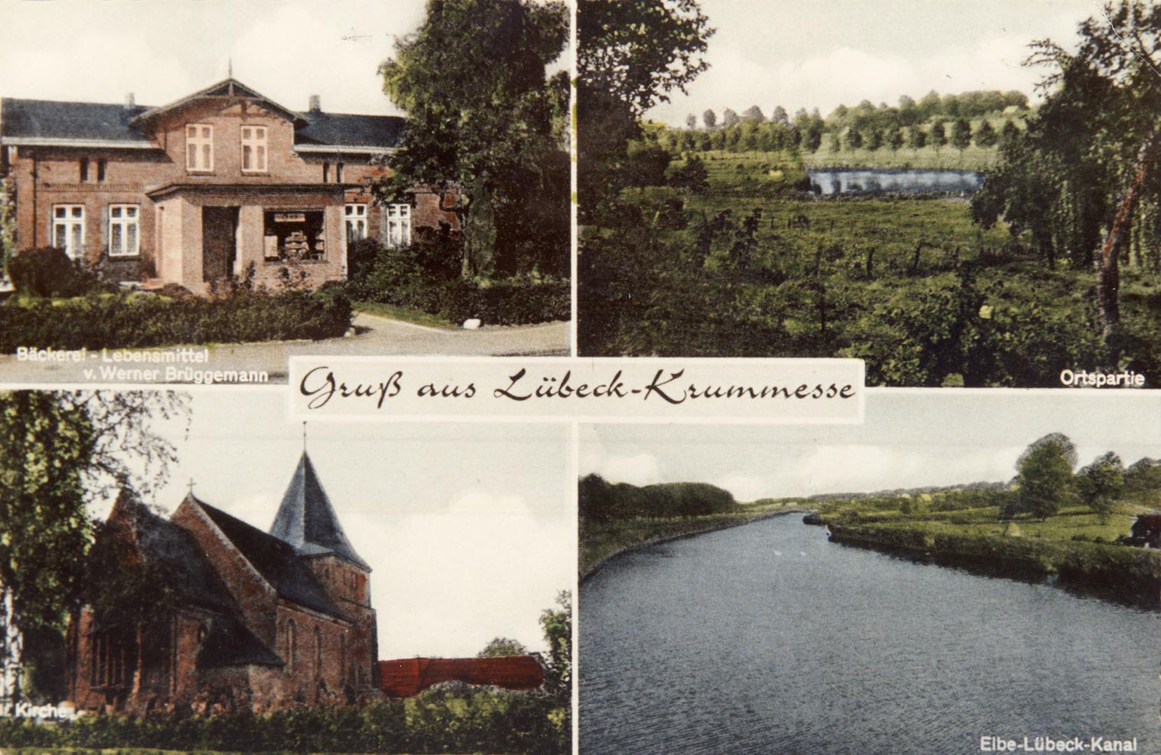 Gruß aus Lübeck-Krummesse