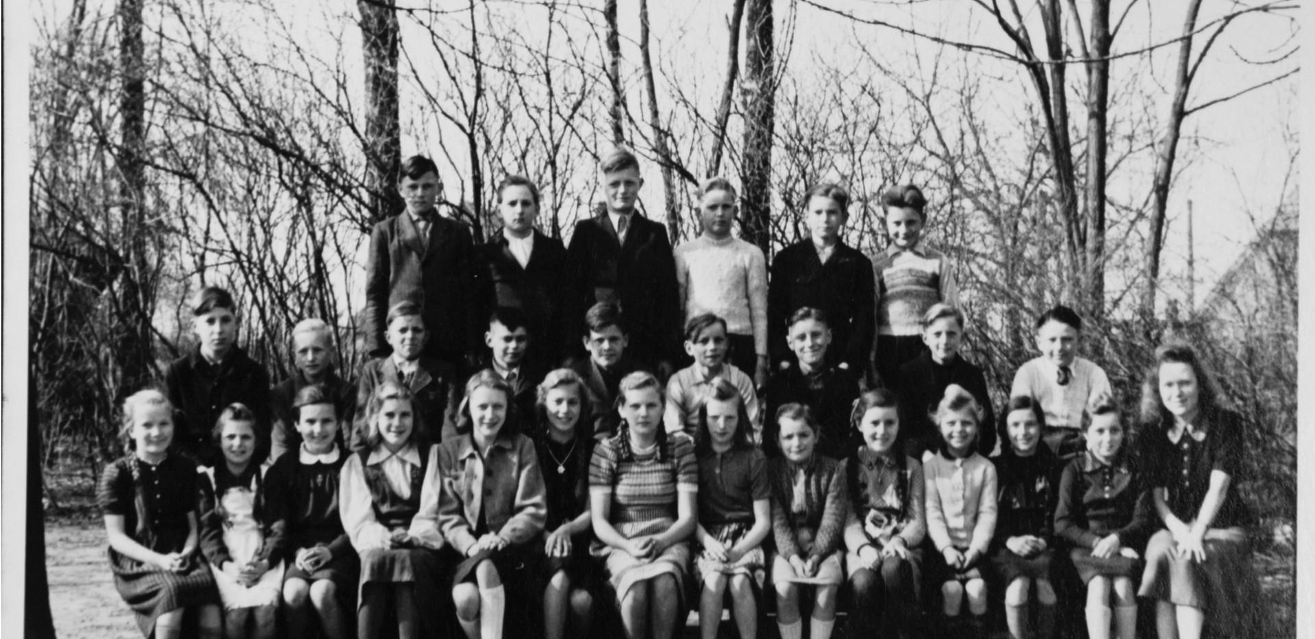 Schulentlassung 1952