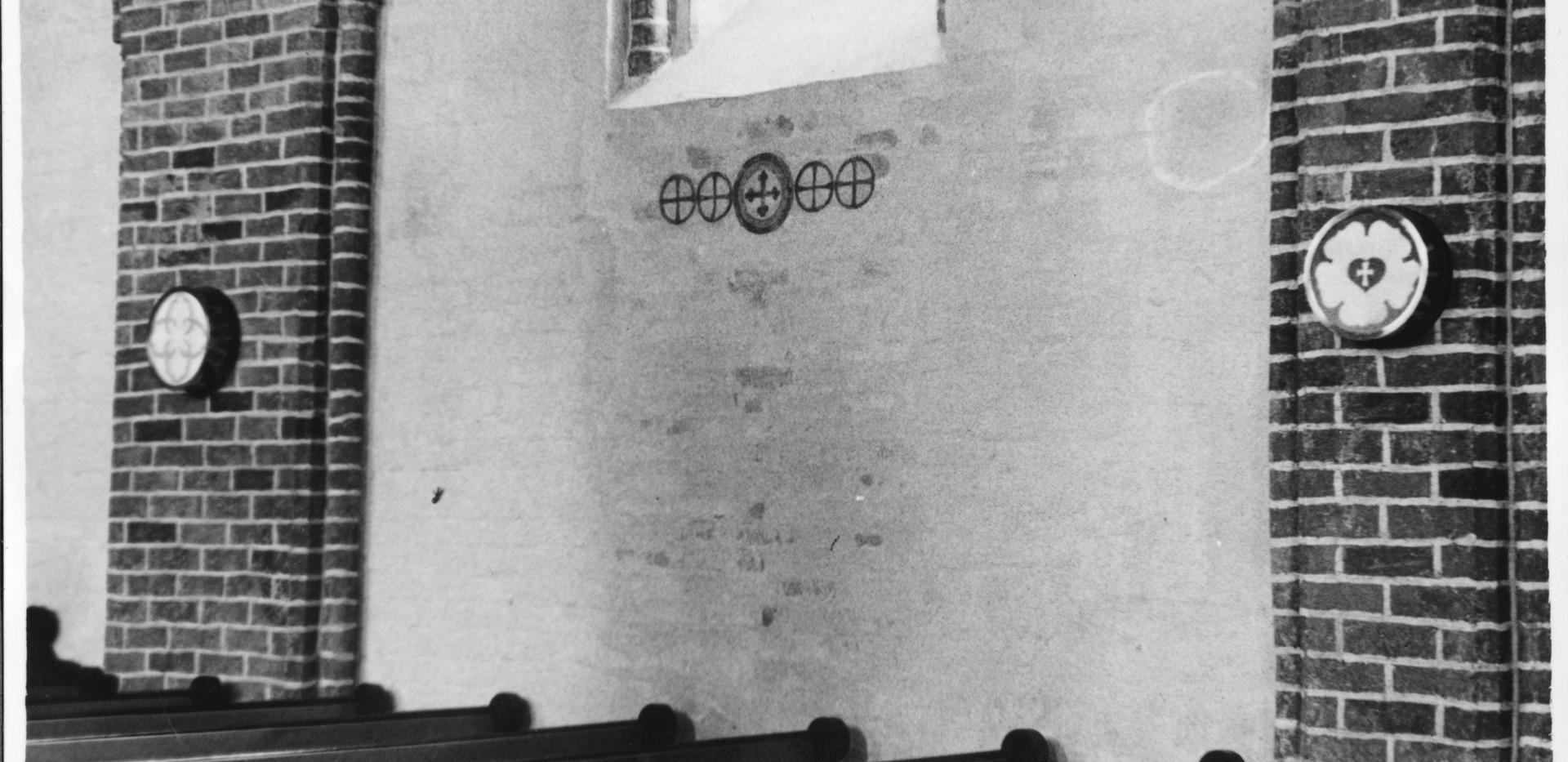 Fresko Wand 1933
