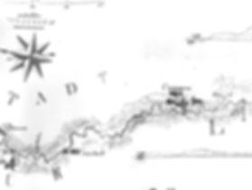 Behrens-Karte der Stecknitz von 1818