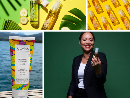 Raw Talent Podcast S2 Episode 9 with Shirley Billot founder of organic skincare brand Kadalys