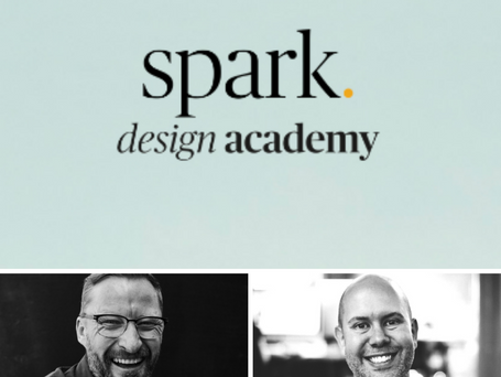Raw Talent Podcast S3 Episode 5 with Spark Design Academy Founders Rob Warner & Craig Buglass