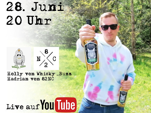 Whiskybuzz YouTube Tasting mit Hadrian von 82 Chapters to Newcastle