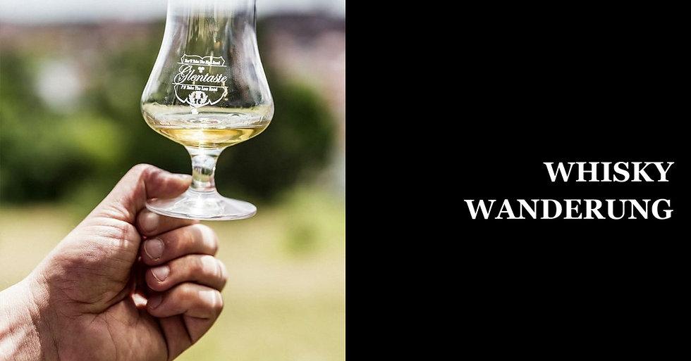 Die Outdoor Whisky Verkostung