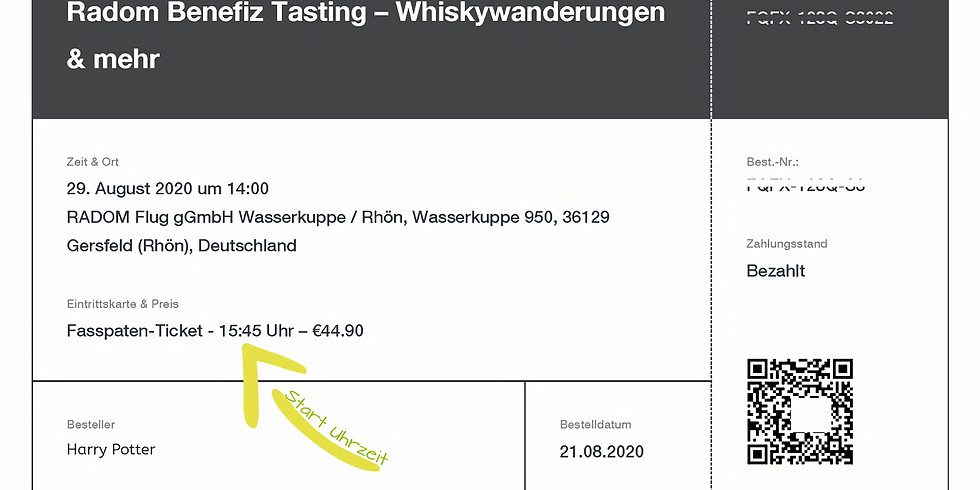 Radom Benefiz Tasting –  Whiskywanderungen & mehr