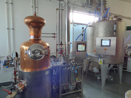 Whisky Brennblase