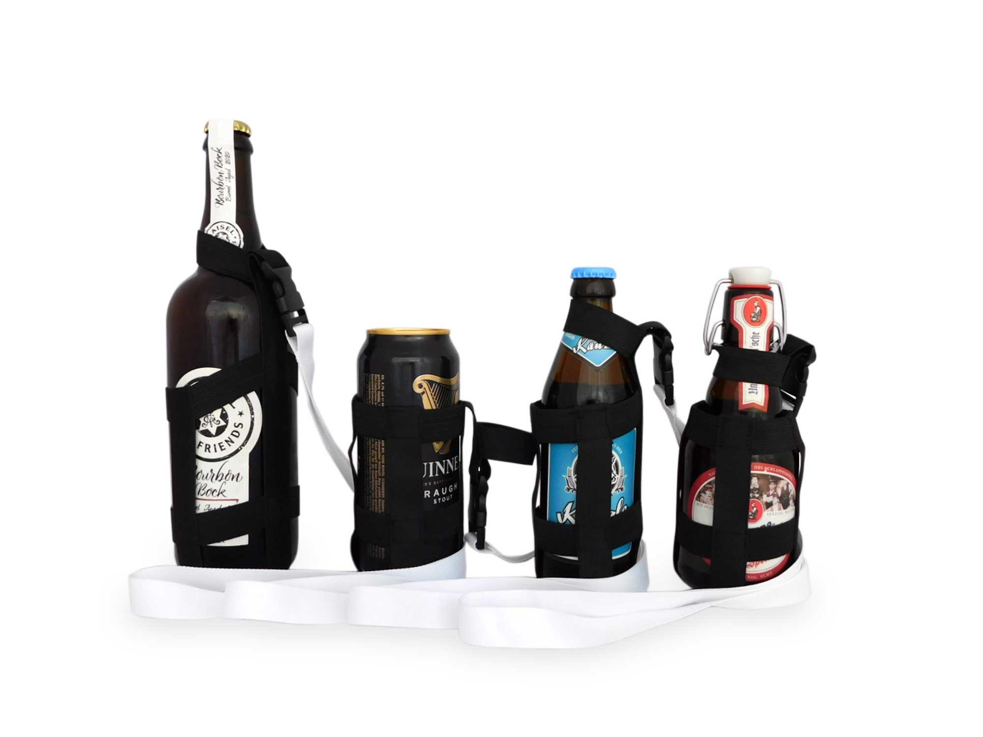 Verschiedene Glashalter Umhängebänder für Flaschen