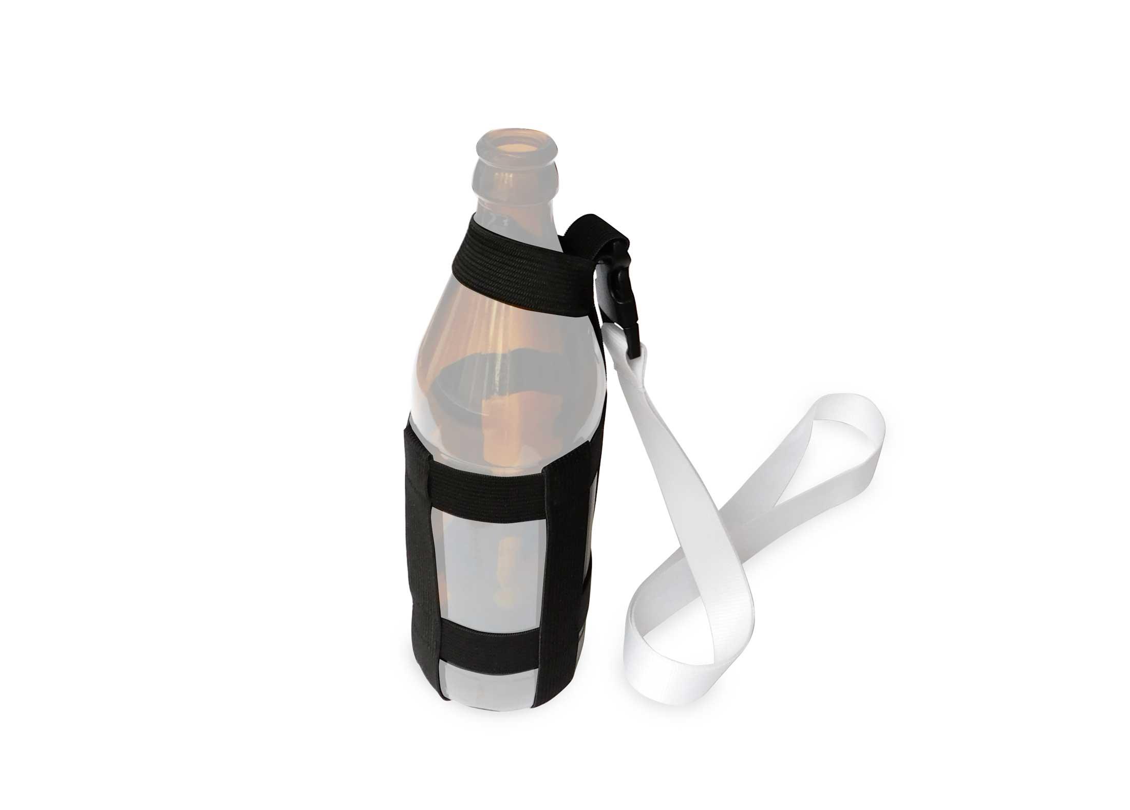 Glashalter Umhängeband für Bierflaschen