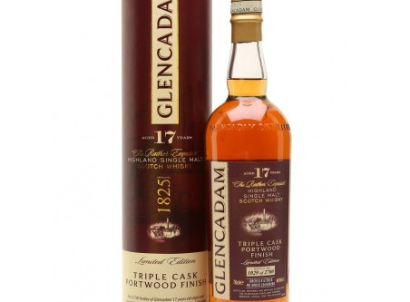 Glencadam 17 Jahre Triple Cask Portwood Finish